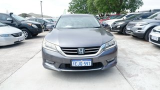 2013 Honda Accord 9th Gen MY13 V6L Silver 6 Speed Sports Automatic Sedan.