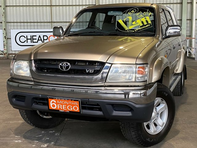 Used Toyota Hilux VZN167R MY04 SR5 Rocklea, 2004 Toyota Hilux VZN167R MY04 SR5 Gold 4 Speed Automatic Utility