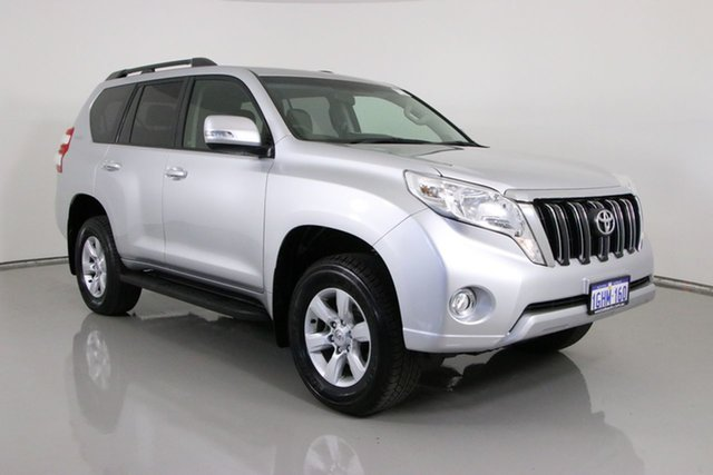 Used Toyota Landcruiser Prado GDJ150R MY17 GXL (4x4) Bentley, 2017 Toyota Landcruiser Prado GDJ150R MY17 GXL (4x4) Silver 6 Speed Automatic Wagon