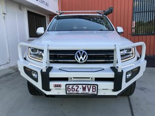 2016 Volkswagen Amarok 2H MY16 TDI420 4Motion Perm Highline White 8 Speed Automatic Utility.