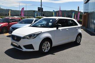 2019 MG MG3 SZP1 MY18 Core White 4 Speed Automatic Hatchback