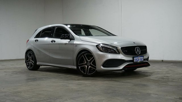 Used Mercedes-Benz A-Class W176 808+058MY A250 D-CT 4MATIC Sport Welshpool, 2018 Mercedes-Benz A-Class W176 808+058MY A250 D-CT 4MATIC Sport Silver 7 Speed