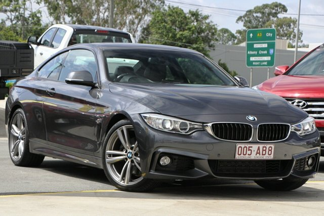 Used BMW 4 Series F32 428i Sport Line Aspley, 2013 BMW 4 Series F32 428i Sport Line Grey 8 Speed Sports Automatic Coupe