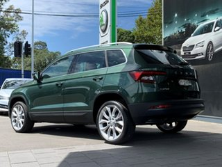 2020 Skoda Karoq NU MY21 110TSI FWD Green 8 Speed Automatic Wagon