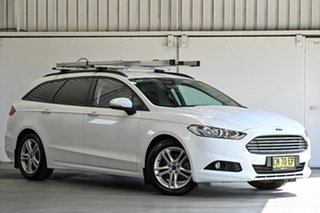 2017 Ford Mondeo MD 2017.00MY Ambiente White 6 Speed Sports Automatic Dual Clutch Wagon.