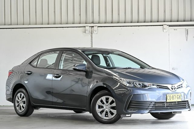 Used Toyota Corolla ZRE172R Ascent S-CVT Laverton North, 2017 Toyota Corolla ZRE172R Ascent S-CVT Moonlight 7 Speed Constant Variable Sedan