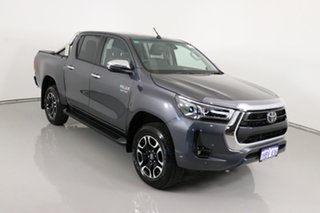 2020 Toyota Hilux GUN126R Facelift SR5+ (4x4) Graphite 6 Speed Automatic Double Cab Pick Up