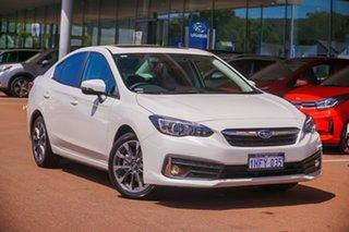 2020 Subaru Impreza G5 2.0I Premium White Constant Variable Sedan.