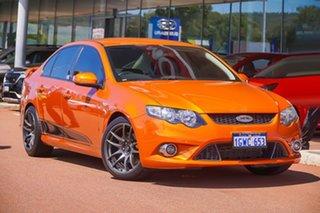 2011 Ford Falcon FG XR6 Limited Edition Gold 6 Speed Sports Automatic Sedan.