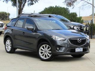 2013 Mazda CX-5 KE1031 MY13 Grand Touring SKYACTIV-Drive AWD Grey 6 Speed Sports Automatic Wagon.