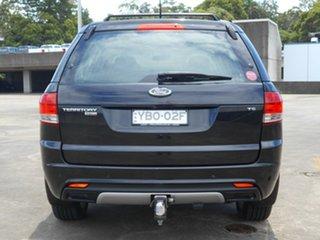 2013 Ford Territory SZ TS Seq Sport Shift AWD Black 6 Speed Sports Automatic Wagon