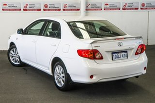 2009 Toyota Corolla ZRE152R MY09 Conquest Glacier White 4 Speed Automatic Sedan.