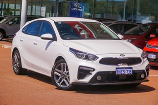 2020 Kia Cerato BD Sport White Sports Automatic Hatchback.