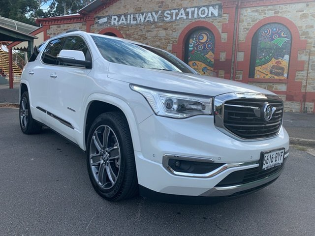 Used Holden Acadia AC MY19 LTZ-V AWD Cheltenham, 2018 Holden Acadia AC MY19 LTZ-V AWD White 9 Speed Sports Automatic Wagon