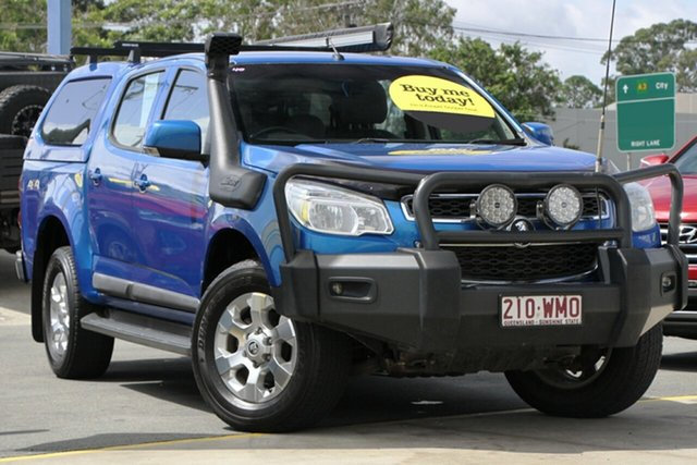 Used Holden Colorado RG MY16 LS-X Crew Cab Aspley, 2016 Holden Colorado RG MY16 LS-X Crew Cab Blue 6 Speed Sports Automatic Utility