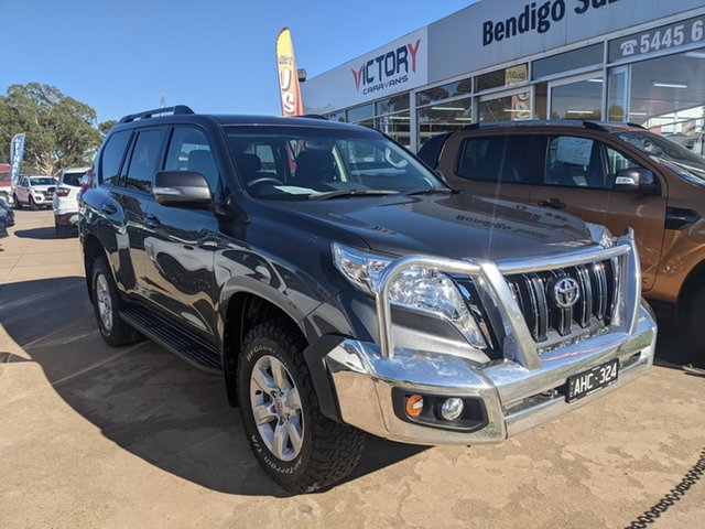 Used Toyota Landcruiser Prado GDJ150R GXL Epsom, 2015 Toyota Landcruiser Prado GDJ150R GXL Grey 6 Speed Sports Automatic Wagon