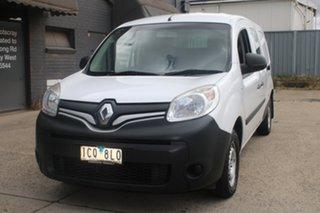 2014 Renault Kangoo X61 MY14 Maxi White 6 Speed Manual Van.