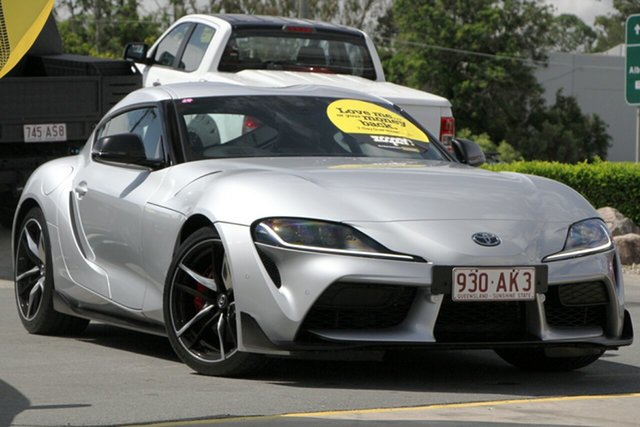 Used Toyota Supra J29 GR GTS Aspley, 2019 Toyota Supra J29 GR GTS Silver 8 Speed Sports Automatic Coupe