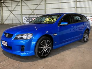 2010 Holden Commodore VE MY10 SS V Sportwagon Blue 6 Speed Manual Wagon.