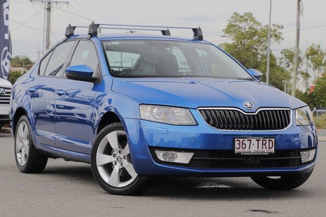 Used Skoda Octavia NE MY14 Ambition Plus Sedan DSG 103TSI Rocklea, 2013 Skoda Octavia NE MY14 Ambition Plus Sedan DSG 103TSI Race Blue Metallic/cloth 7 Speed