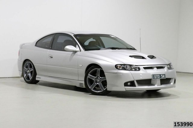 Used Holden Special Vehicles Coupe V2 GTO Bentley, 2002 Holden Special Vehicles Coupe V2 GTO Silver 4 Speed Automatic Coupe