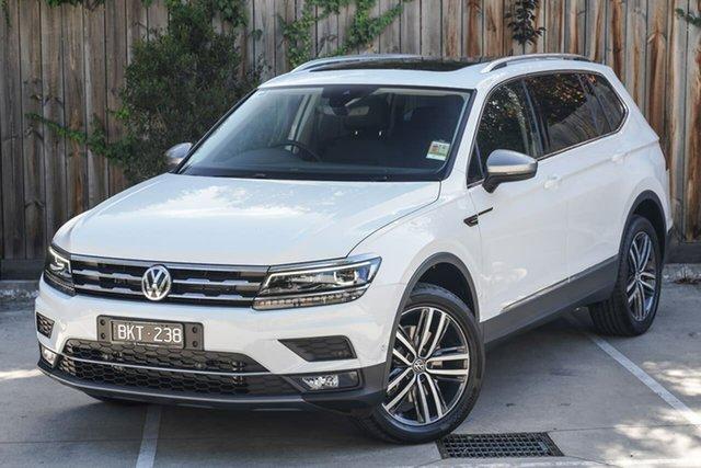 Demo Volkswagen Tiguan 5N MY21 140TDI Highline DSG 4MOTION Allspace Berwick, 2021 Volkswagen Tiguan 5N MY21 140TDI Highline DSG 4MOTION Allspace White 7 Speed
