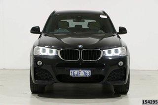 2017 BMW X3 F25 MY17 xDrive20d Black 8 Speed Automatic Wagon.