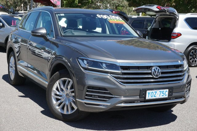Used Volkswagen Touareg CR MY20 190TDI Tiptronic 4MOTION Phillip, 2019 Volkswagen Touareg CR MY20 190TDI Tiptronic 4MOTION Grey 8 Speed Sports Automatic Wagon