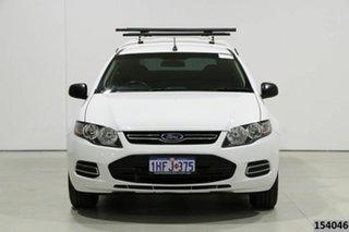 2013 Ford Falcon FG MK2 (LPG) White 6 Speed Automatic Utility.