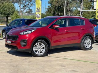 2016 Kia Sportage SI Burgundy Sports Automatic Wagon.