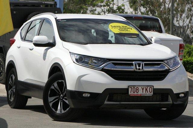 Used Honda CR-V RW MY18 VTi FWD Aspley, 2018 Honda CR-V RW MY18 VTi FWD White 1 Speed Constant Variable Wagon