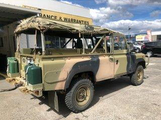 1990 Land Rover 110 Green 5 Speed Manual Cab Chassis.