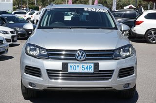 2013 Volkswagen Touareg 7P MY13 V6 TDI Tiptronic 4MOTION Cool Silver 8 Speed Sports Automatic Wagon.