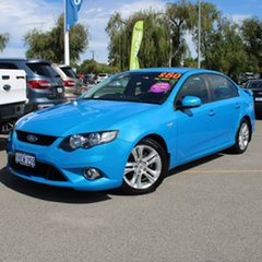 2008 Ford Falcon FG XR6 Blue 5 Speed Sports Automatic Sedan.