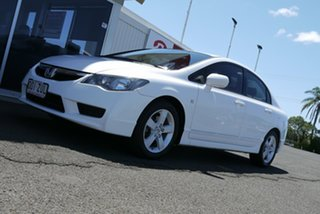 2009 Honda Civic 8th Gen MY10 VTi-L White 5 Speed Automatic Sedan.