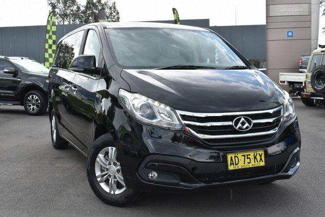Used LDV G10 SV7C Tuggerah, 2017 LDV G10 SV7C Obsidian Black/light Grey 6 Speed Automatic Van