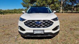 2019 Ford Endura CA 2019MY Titanium White Platinum 8 Speed Sports Automatic Wagon.