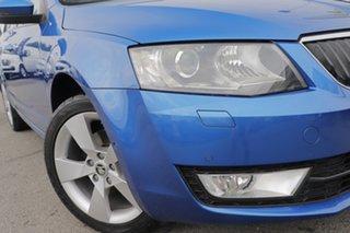 2013 Skoda Octavia NE MY14 Ambition Plus Sedan DSG 103TSI Race Blue Metallic/cloth 7 Speed.