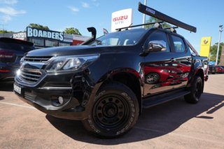 2018 Holden Colorado RG MY18 LTZ (4x4) Black 6 Speed Automatic Crew Cab Pickup.