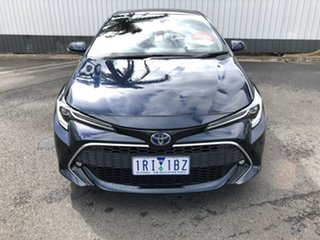 2020 Toyota Corolla ZWE211R ZR E-CVT Hybrid Peacock Black 10 Speed Constant Variable Hatchback
