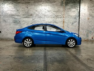 2018 Hyundai Accent RB6 MY18 Sport Blue 6 Speed Sports Automatic Sedan