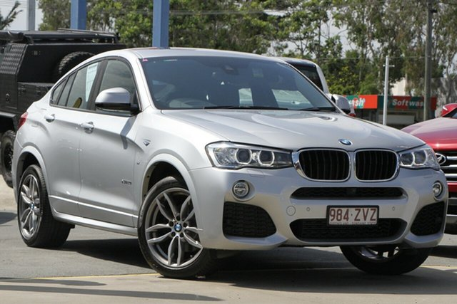 Used BMW X4 F26 xDrive20i Coupe Steptronic Aspley, 2017 BMW X4 F26 xDrive20i Coupe Steptronic Silver 8 Speed Automatic Wagon