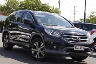 2012 Honda CR-V RM VTi-L 4WD Black 5 Speed Automatic Wagon.