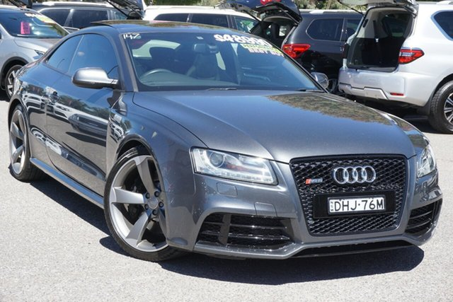 Used Audi RS5 8T MY11 S Tronic Quattro Phillip, 2010 Audi RS5 8T MY11 S Tronic Quattro Grey 7 Speed Sports Automatic Dual Clutch Coupe