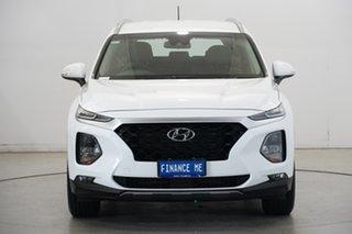 2019 Hyundai Santa Fe TM.2 MY20 Active White Cream 8 Speed Sports Automatic Wagon.