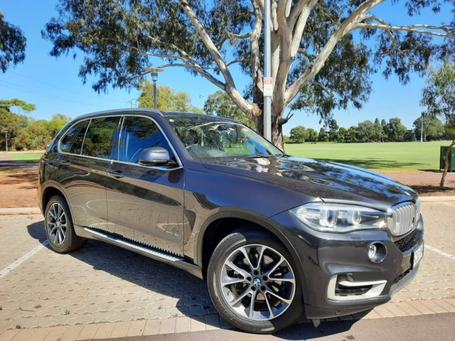 Used BMW X5 F15 xDrive30d Adelaide, 2014 BMW X5 F15 xDrive30d Grey 8 Speed Sports Automatic Wagon