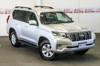 2020 Toyota Landcruiser Prado GDJ150R GXL Silver Pearl 6 Speed Sports Automatic Wagon.