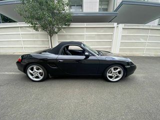 2000 Porsche Boxster Black 5 Speed Manual Convertible.