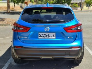 2017 Nissan Qashqai J11 Series 2 ST-L X-tronic Blue 1 Speed Constant Variable Wagon
