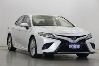2018 Toyota Camry AXVH71R SL White 6 Speed Constant Variable Sedan Hybrid